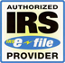 IRS verified seal